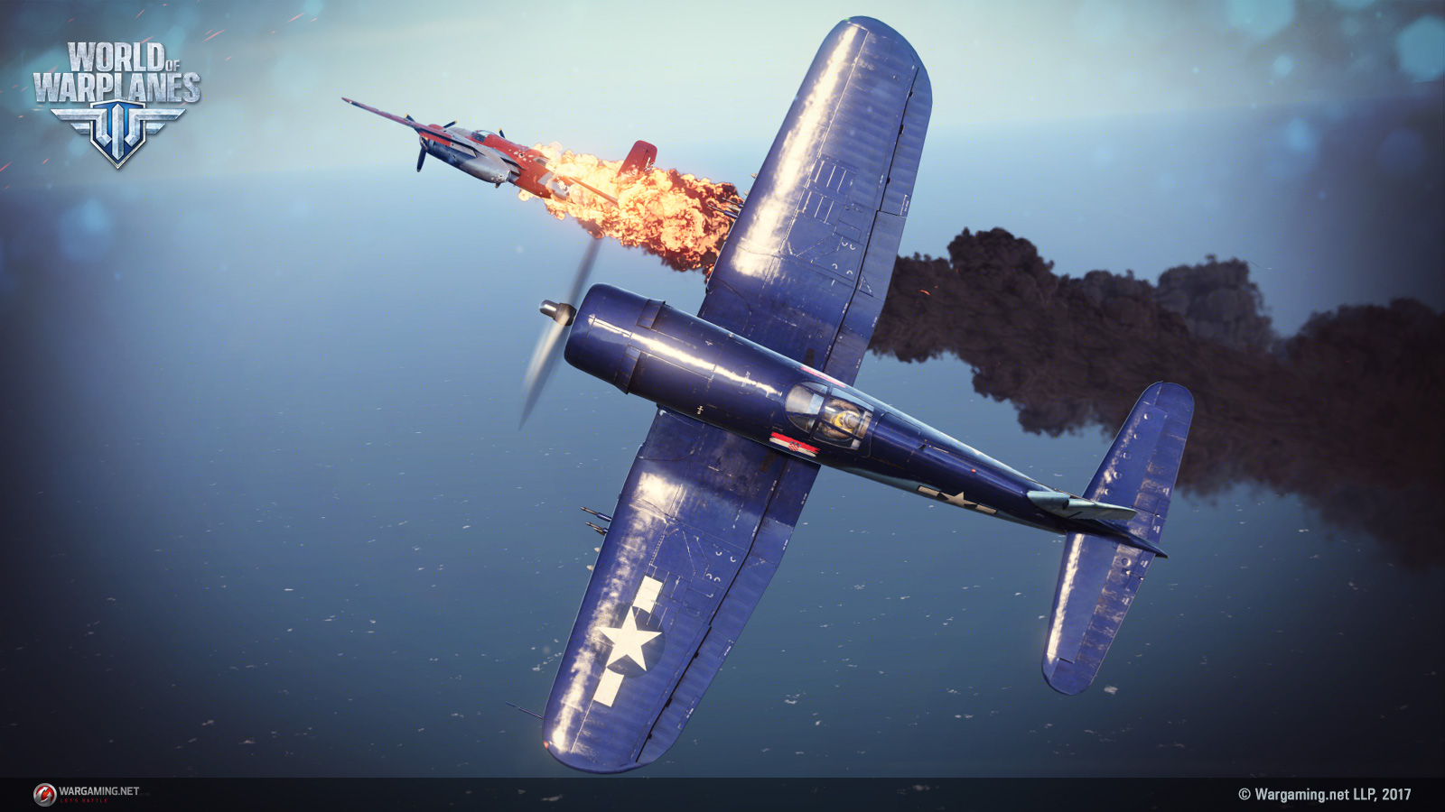 Breathtaking air battles with planes of the golden era