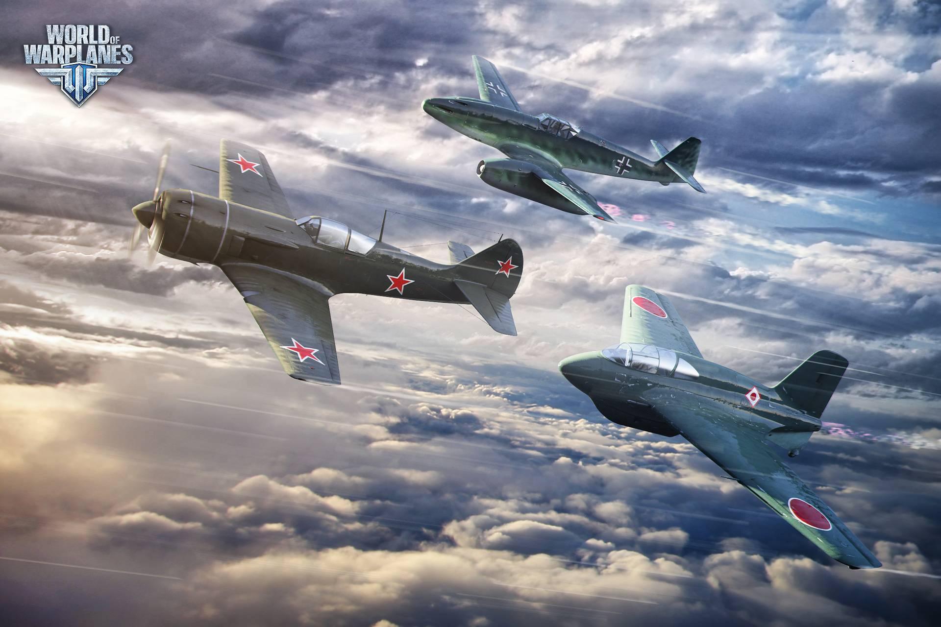 Скачать World Of Warplanes Common Test