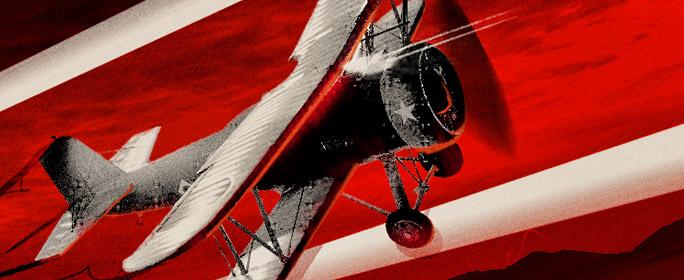 Самолеты в воздушном бою